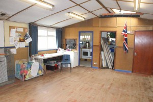 Equipment storage and heating